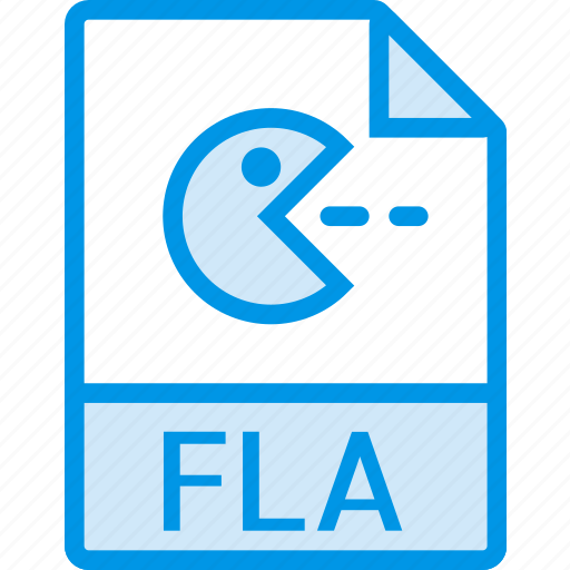 data, document, extension, file, fla icon