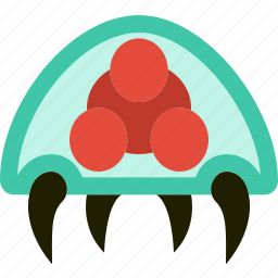 game, gaming, metroid, monster, play, squid, symbiote icon