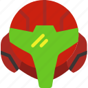 gaming, game, metroid, play, nintendo icon