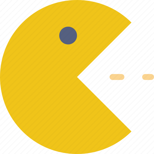 game, gaming, pacman, play icon