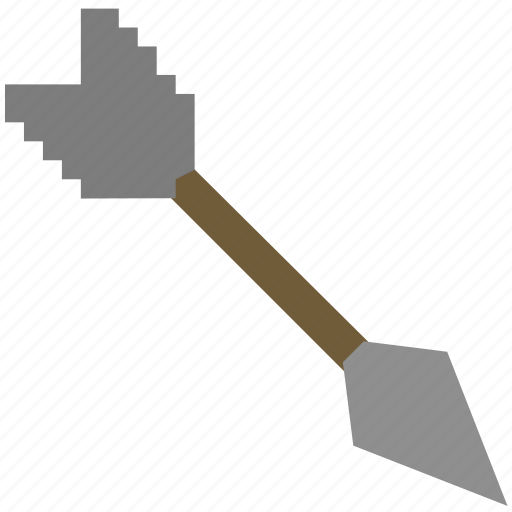 arrow, bow, game, gaming, minecraft, play icon