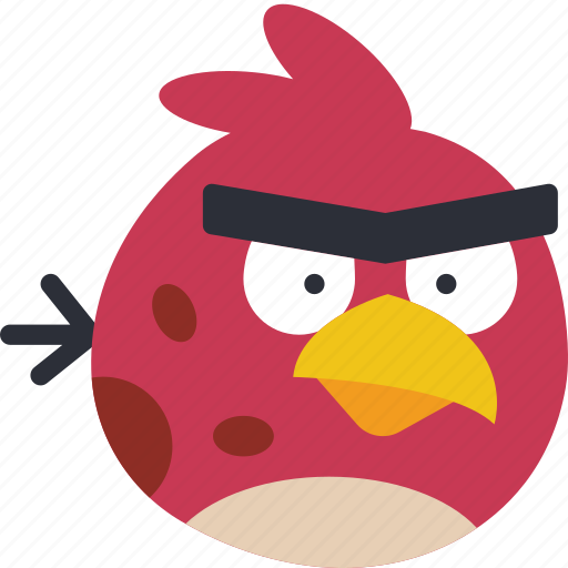 angry, bird, game, gaming, play, terrence icon