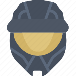 game, gaming, halo, play, soldier, spartan icon