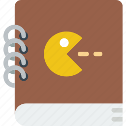 book, game, gaming, instruction, manual, play icon