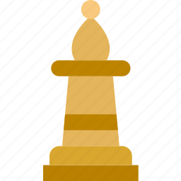 bishop, chess, game, gaming, play icon