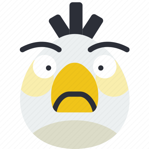angry, bird, game, gaming, matilda, play icon
