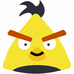 angry, bird, chuck, game, gaming, play icon