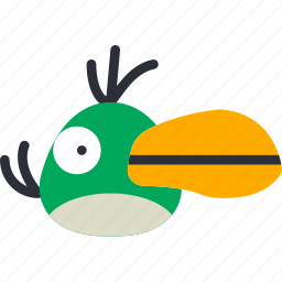 angry, bird, game, gaming, hal, play icon