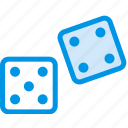 dices, gamble, game, gaming, play icon