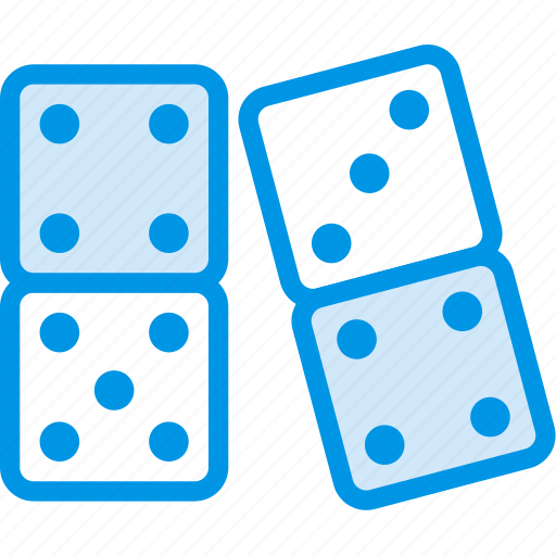 dominoes, game, gaming, play icon