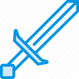 attack, defend, game, gaming, minecraft, play, sword icon