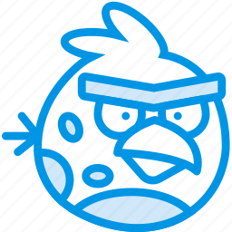 angry, birds, game, gaming, play, terrence icon