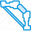 arrow, bow, game, gaming, minecraft, play, shoot icon