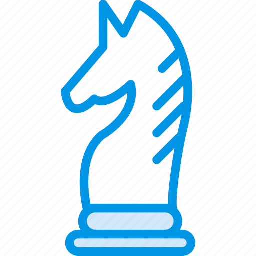 chess, game, gaming, knight, play icon