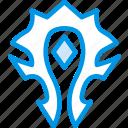 game, gaming, horde, orc, play, warcraft icon