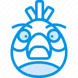 angry, birds, game, gaming, matilda, play icon