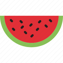 cooking, food, gastronomy, slice, watermelon icon