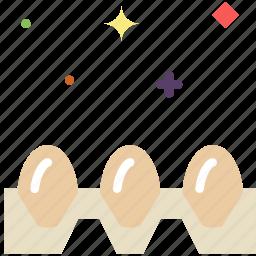carton, cooking, egg, food, gastronomy icon