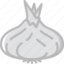 cooking, food, gastronomy, shallot icon