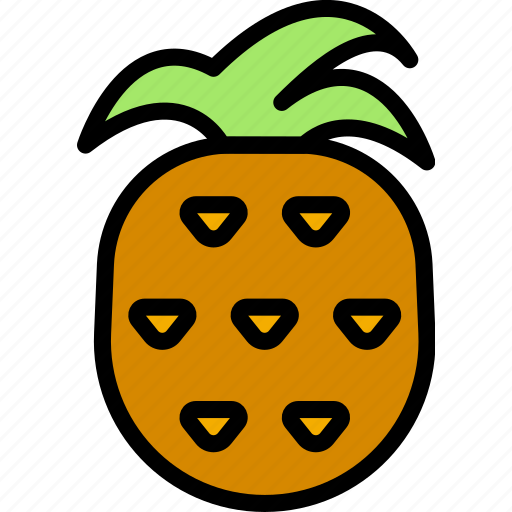 cooking, food, gastronomy, pineapple icon