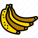 bananas, cooking, food, gastronomy icon
