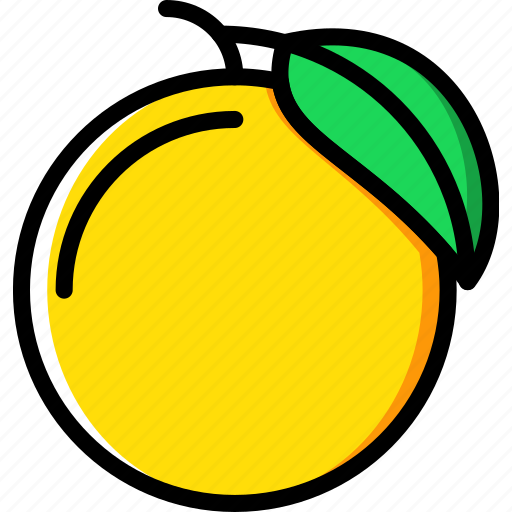 cooking, food, gastronomy, peach icon
