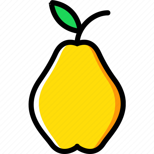 cooking, food, gastronomy, pear icon