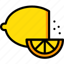 cooking, food, gastronomy, lemon icon