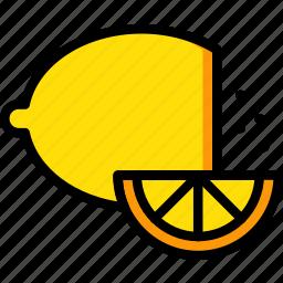 cooking, food, gastronomy, lemon icon