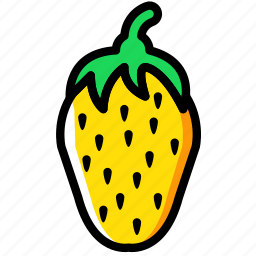 cooking, food, gastronomy, strawberry icon