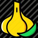 cooking, food, garlic, gastronomy icon