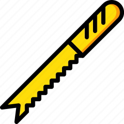 bread, cooking, food, gastronomy, knife icon