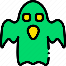 ghost, holidays, relax, visit icon