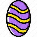 easter, egg, holidays, relax, visit icon