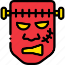 frankenstein, holidays, monster, relax, visit icon