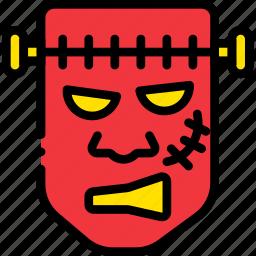 frankenstein, holidays, monster, relax, visit icon
