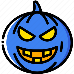 evil, holidays, pumpkin, relax, visit icon