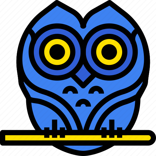 holidays, owl, relax, visit icon