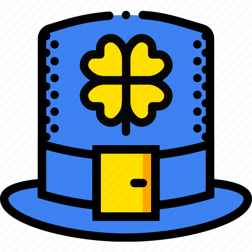 hat, holidays, leprechaun, relax, visit icon