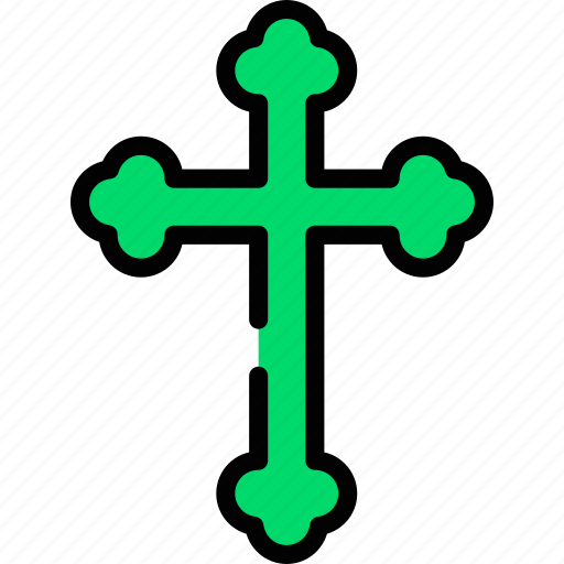 cross, holidays, relax, visit icon