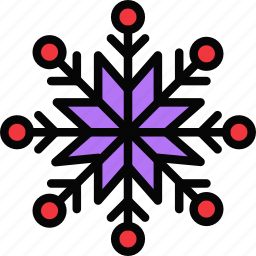holidays, relax, snowflake, visit icon