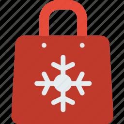 bag, celebration, christmas, festivity, holiday, shopping icon
