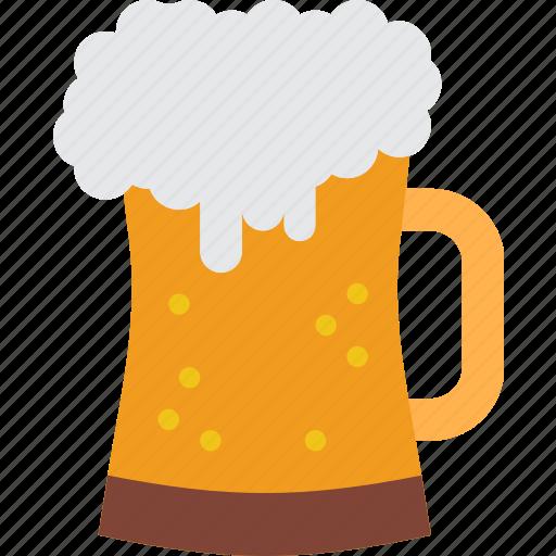 alcohol, beer, beverage, celebration, festivity, holiday, pint icon