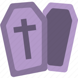 celebration, coffin, dead, festivity, halloween, holiday icon