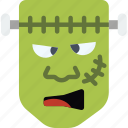 celebration, festivity, frankenstein, halloween, holiday, monster icon