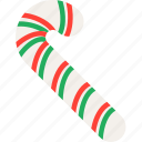 candy, cane, celebration, christmas, festivity, holiday, sweet icon