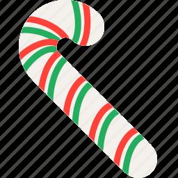 candy, cane, celebration, christmas, festivity, holiday, sweet icon