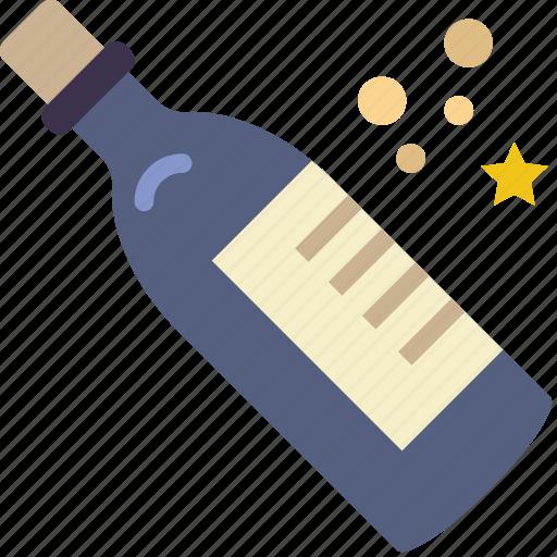 alcohol, celebration, champagne, festivity, holiday icon