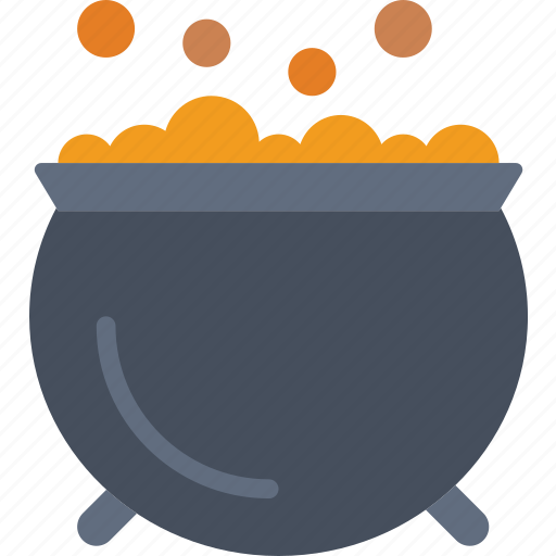 bubbling, cauldron, celebration, festivity, halloween, holiday, stew icon