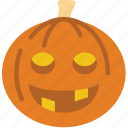 celebration, festivity, halloween, holiday, pumpkin icon
